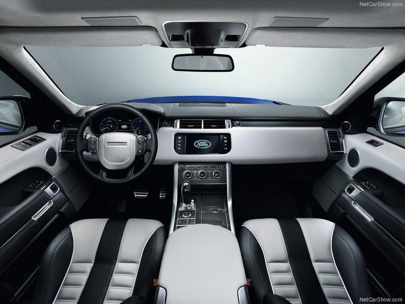interieur range rover sport